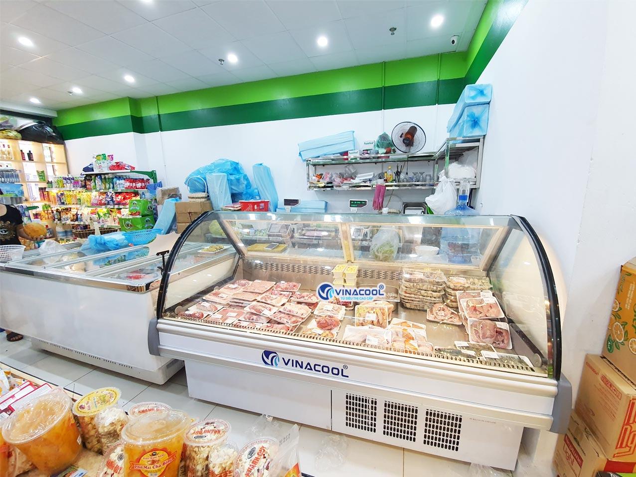 tủ bảo quản thịt tươi dài 2m