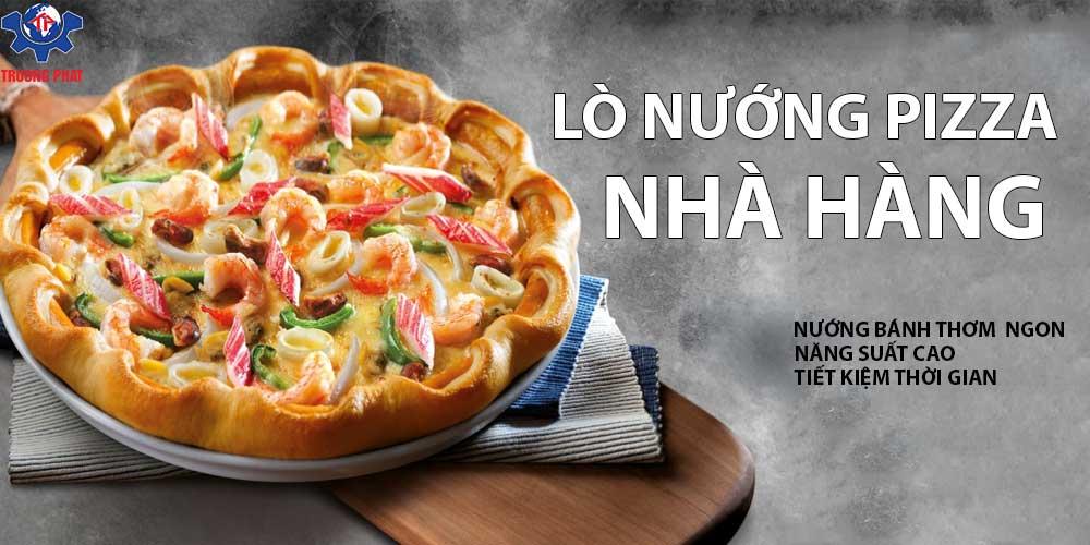 lo nuong pizza cho nha hang