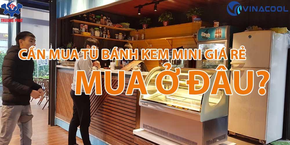 Cần mua tủ bánh kem mini giá rẻ, mua ở đâu?