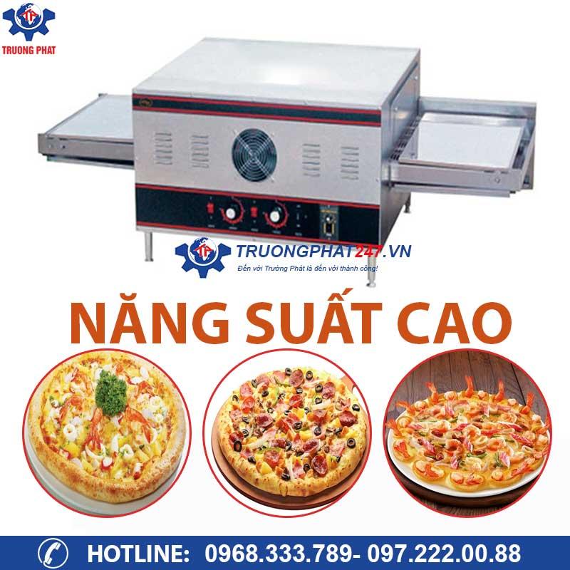 lò nướng bánh pizza bằng chuyền công suất cao
