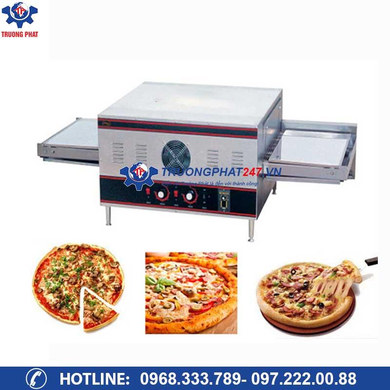 Lò nướng pizza điện băng tải