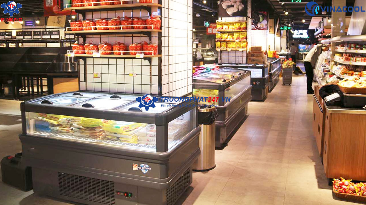 Báo giá tủ đông siêu thị
