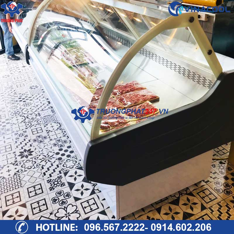 tủ bảo quản thịt có sấy kính SHG-1500F