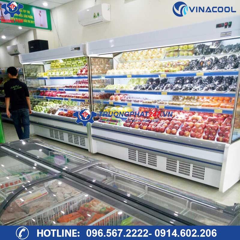 tủ mát trưng bày thực phẩm Vinacool