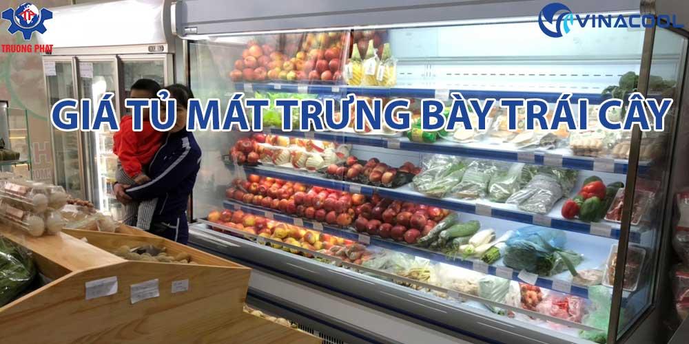 Báo giá tủ mát trưng bày trái cây