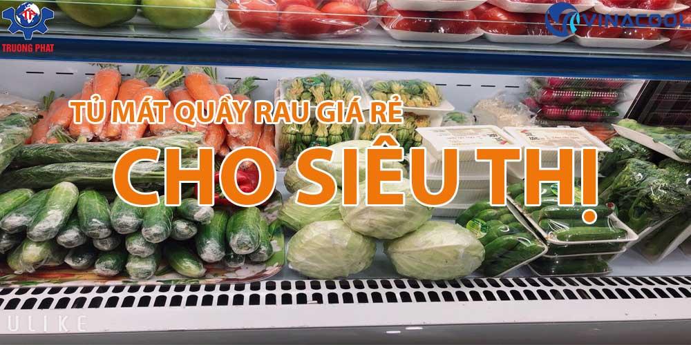 Top tủ mát quầy rau trái cây giá rẻ cho siêu thị