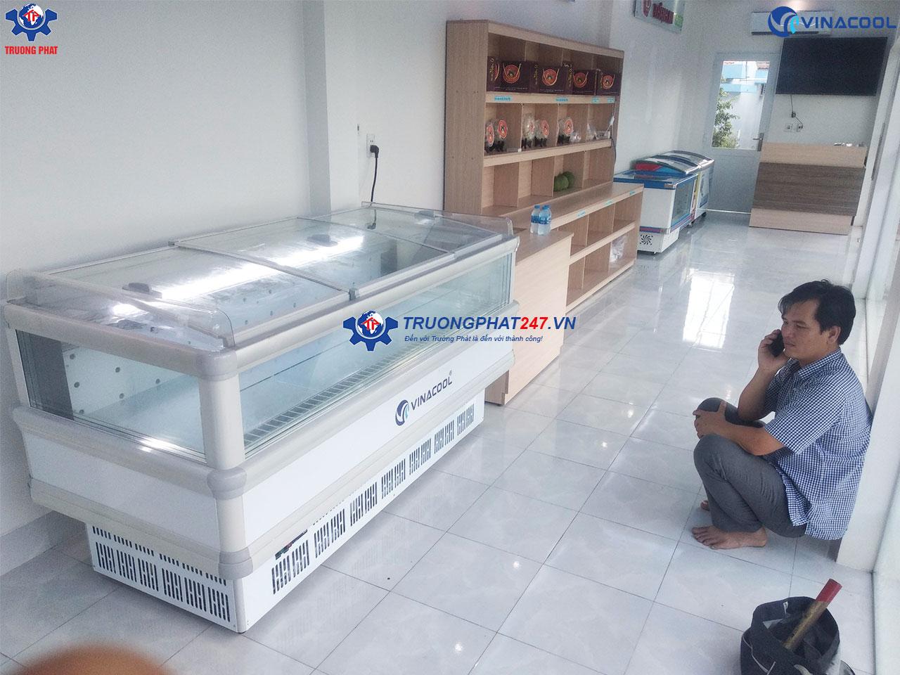 tủ bảo quản hải sản