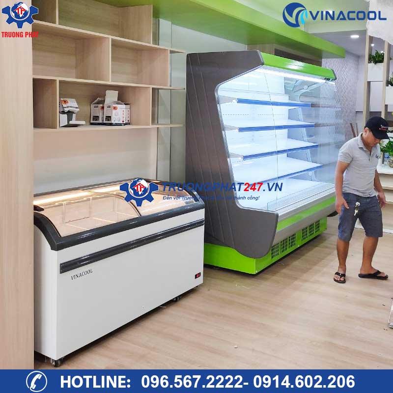 Setup hệ thống tủ đông tủ mát cho Minimart tại TP. Mỹ Tho