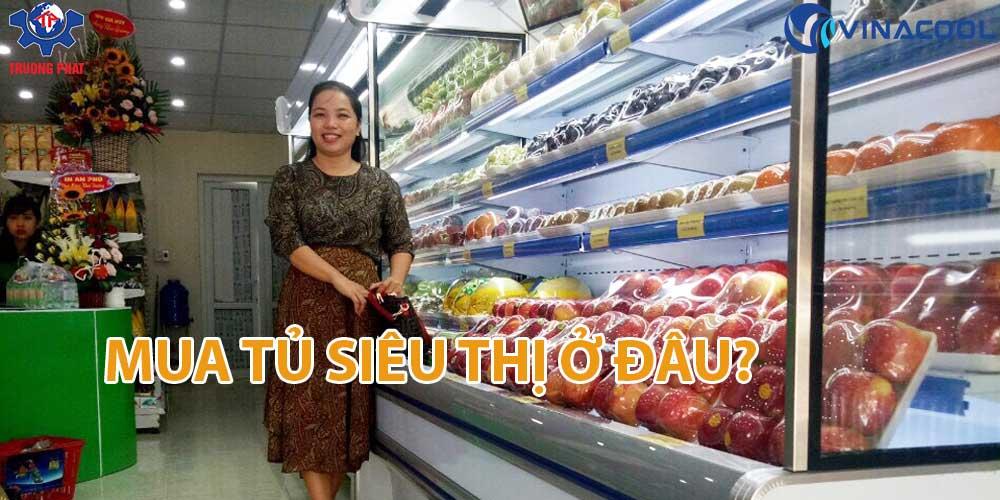 Mua tủ siêu thị tại Hà Nội ở đâu để có giá rẻ nhất