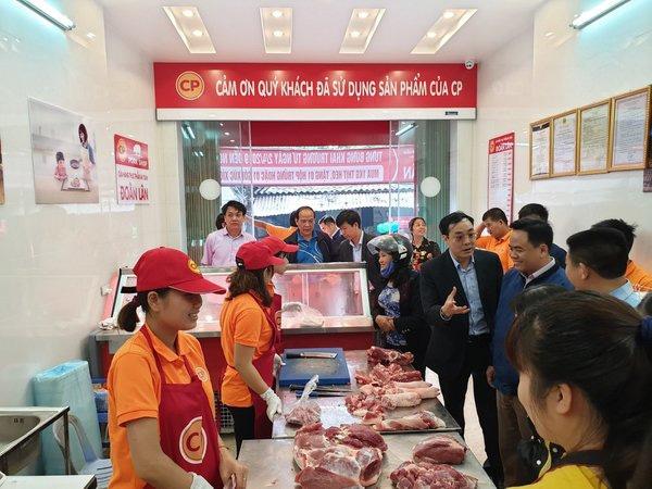 cửa hàng bán thịt lợn sạch CPFoods