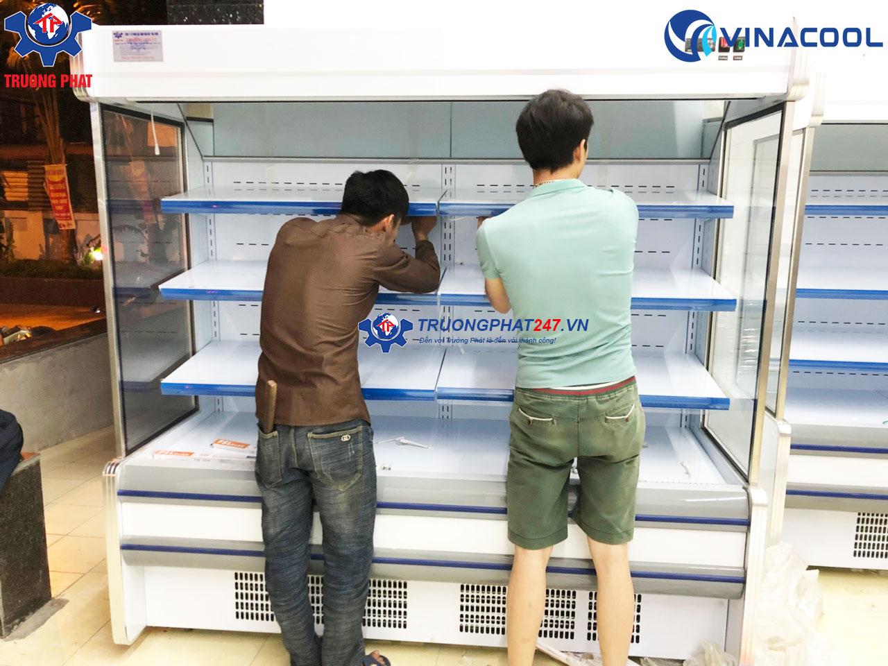 lắp đặt tủ bảo quản rau củ SLG-1500F