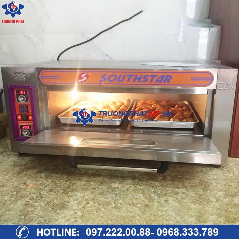 Lò nướng khoai lang mật công nghiệp điện gas