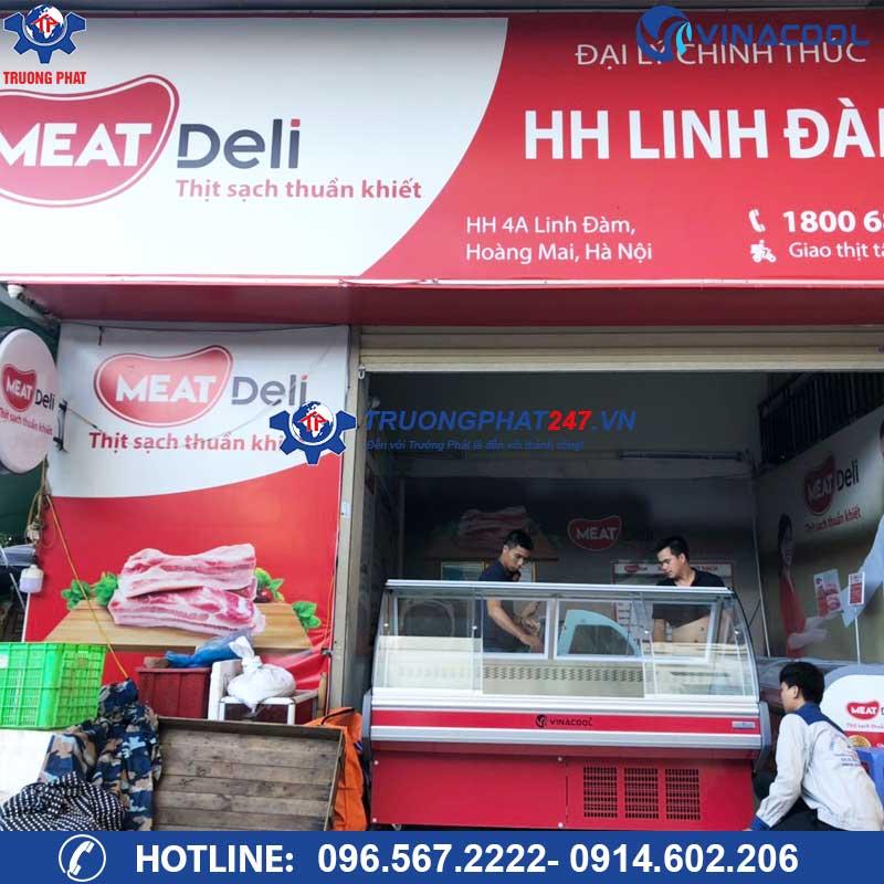 Hệ thống tủ thịt tươi tại chuỗi cửa hàng thịt sạch Meat Deli