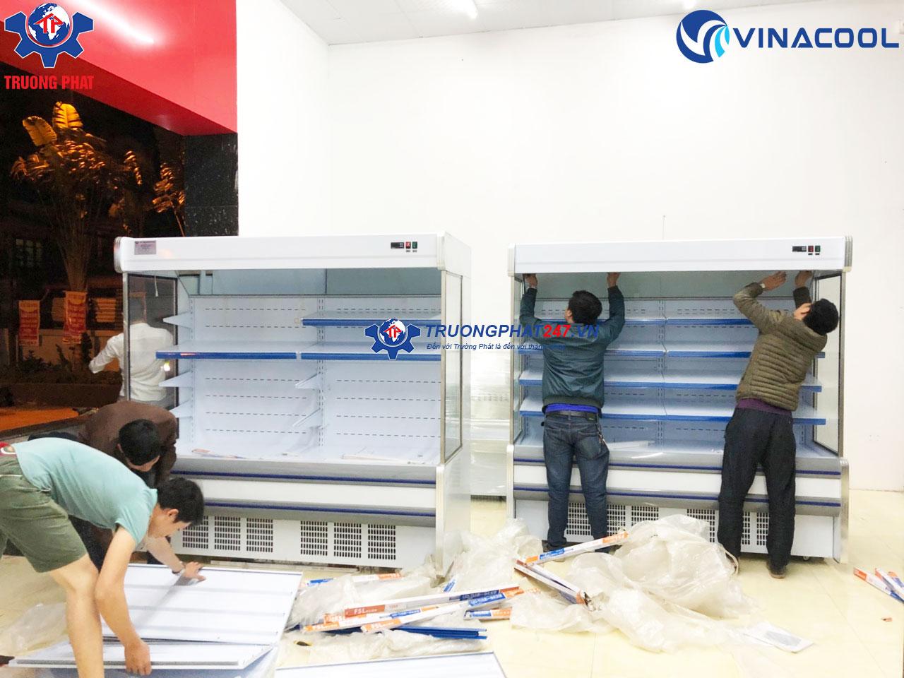lắp đặt tủ rau Vinacool
