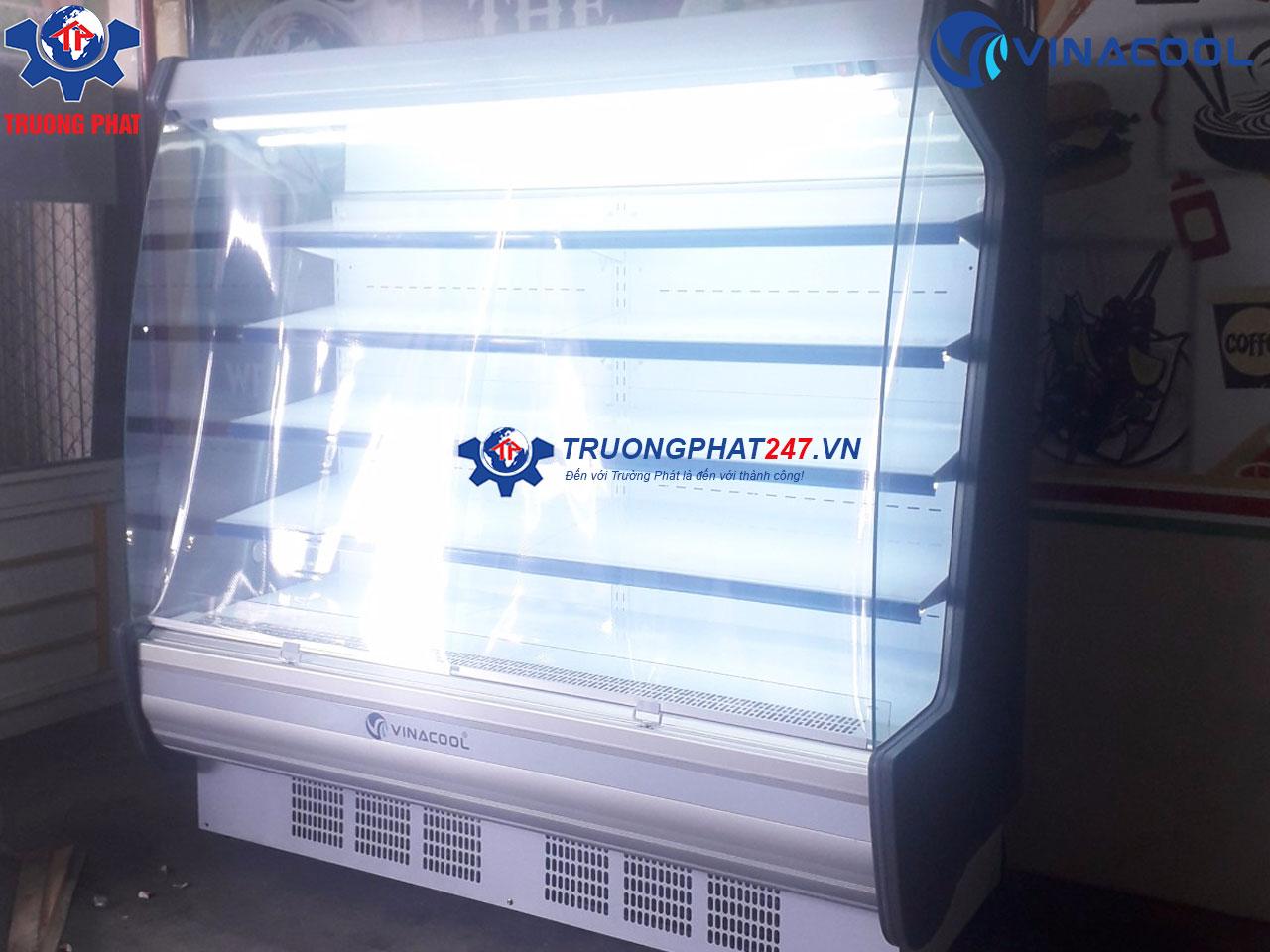 tủ siêu thị SLG-2500FB màu trắng