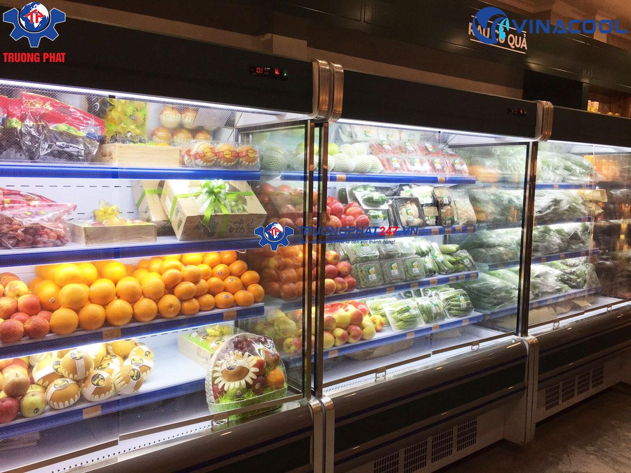 tủ mát bảo quản trái cây rau sạch SLG-1500F