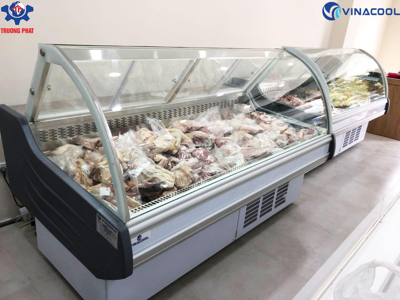 tủ bảo quản thịt tươi trắng Trường Phát