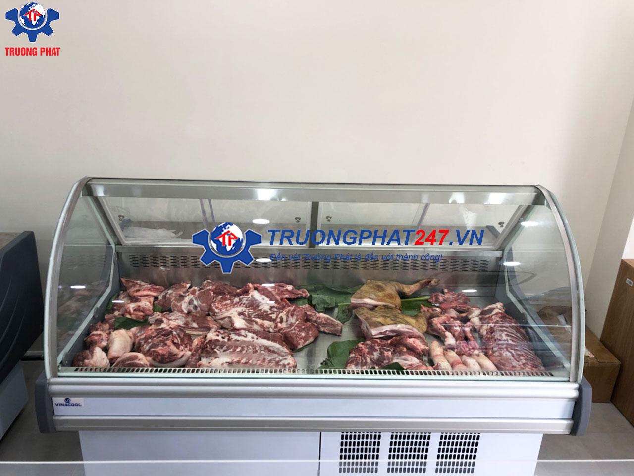 tủ bán thịt lợn sạch
