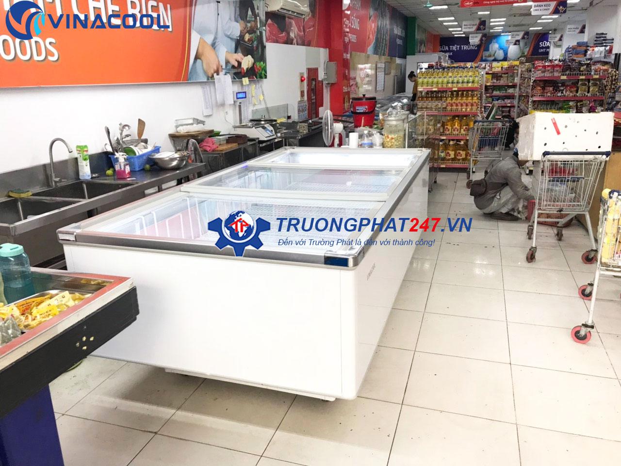 tủ đông bán thịt cá siêu thị WD4-1260