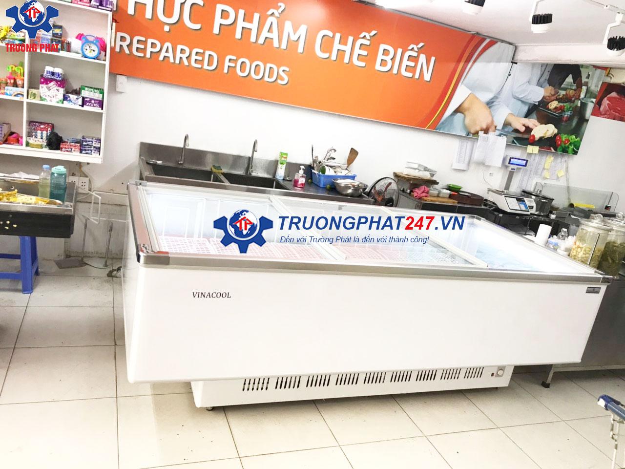 tủ đông bảo quản thực phẩm siêu thị Việt Ý Mart