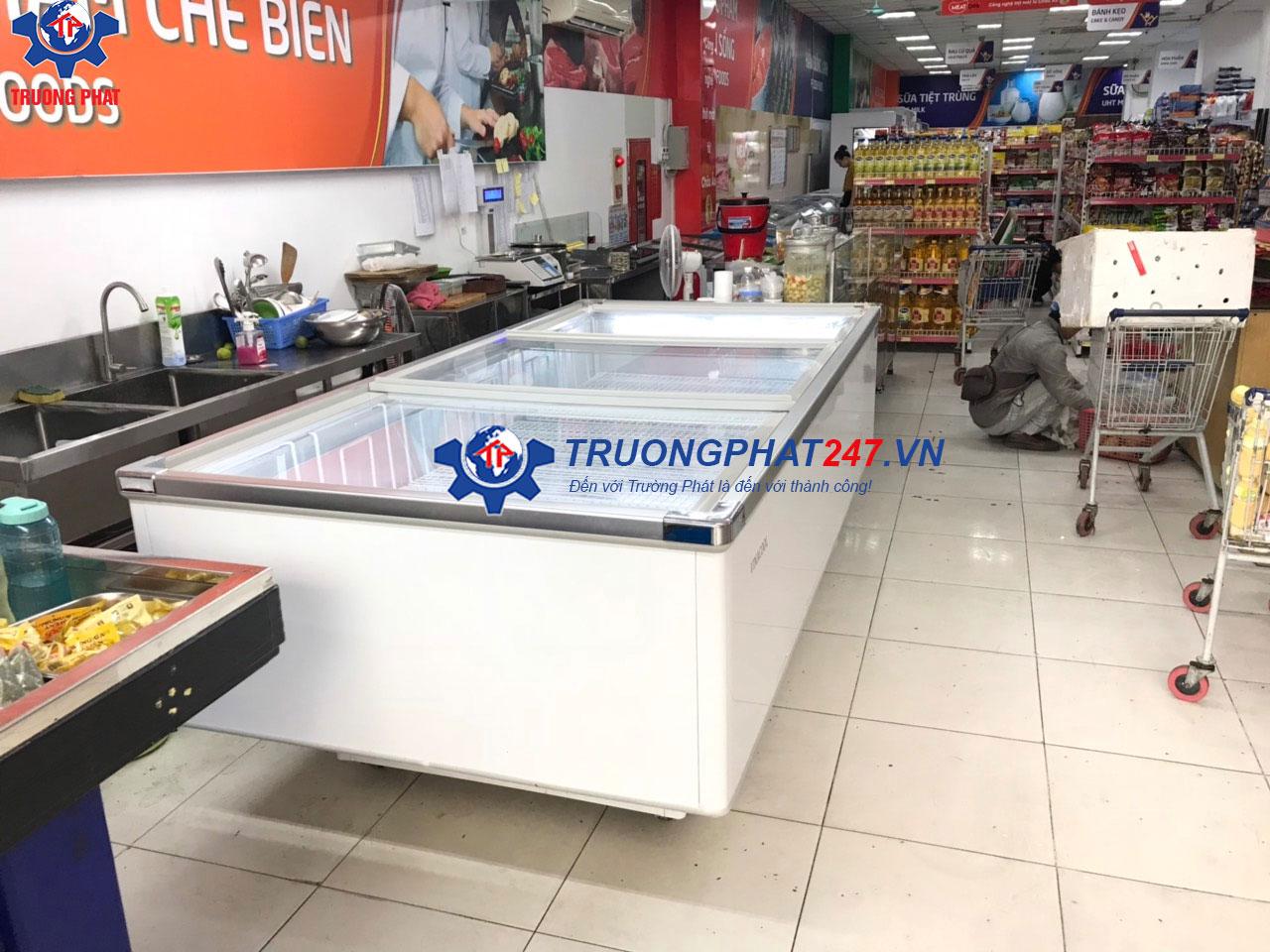 tủ đông siêu thị Việt ý Mart