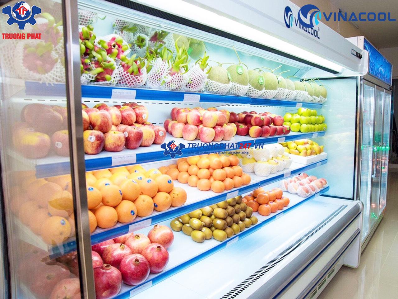 tủ trưng bày hoa quả