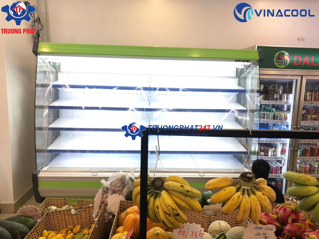 tủ rau củ quả siêu thị SLG-2500FB