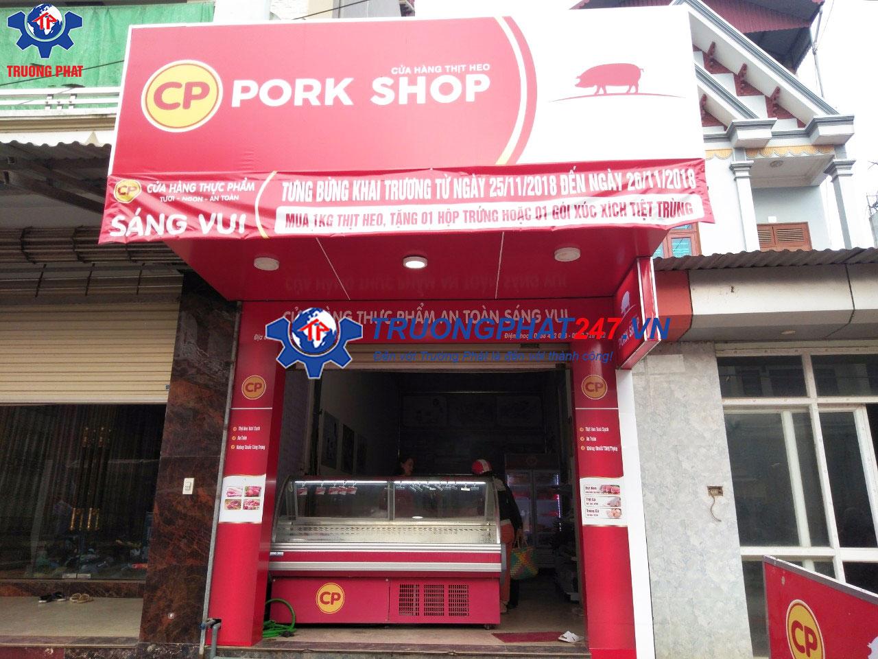 cửa hàng bán thịt sạch