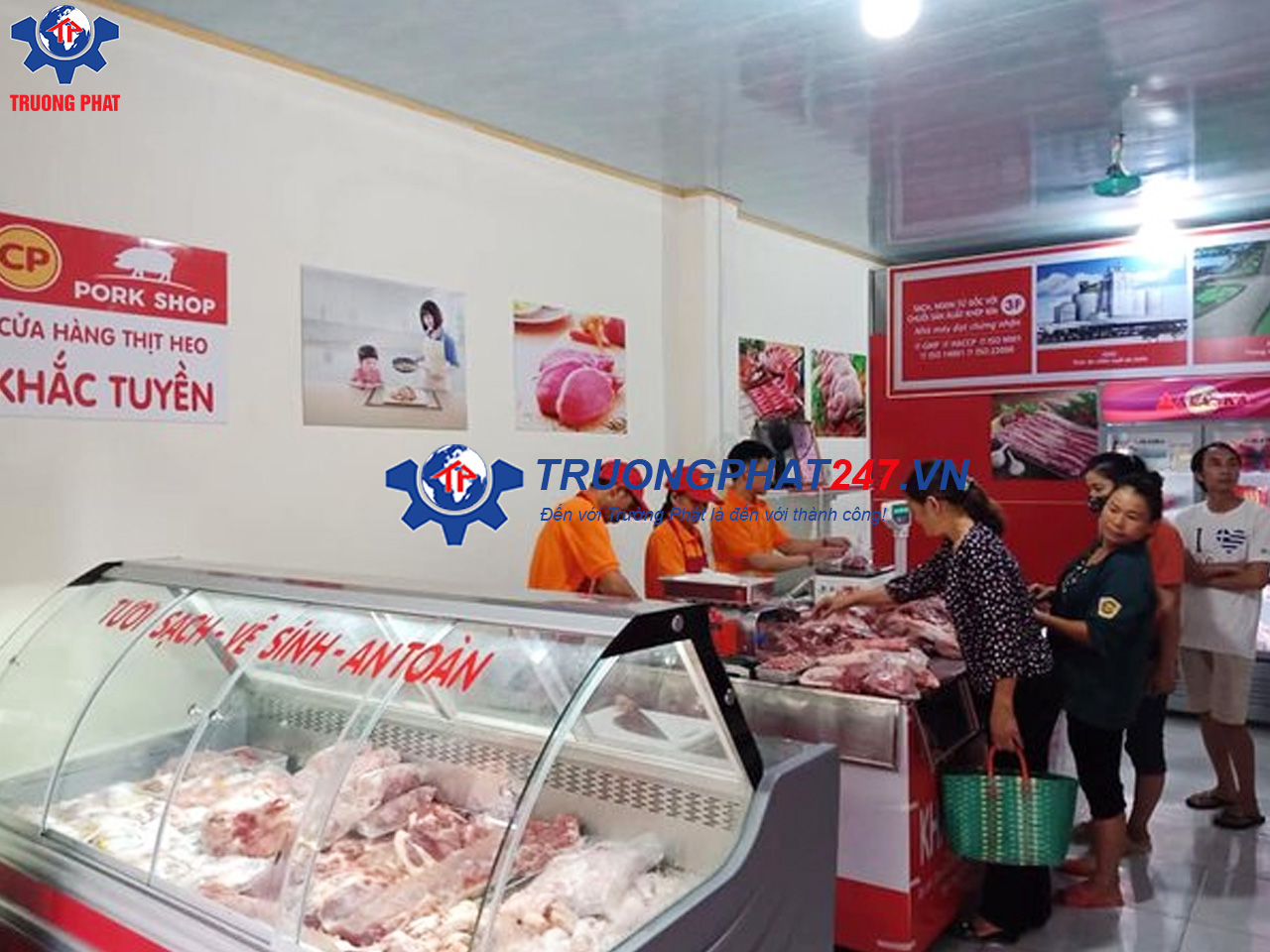 cửa hàng thực phẩm sạch CP