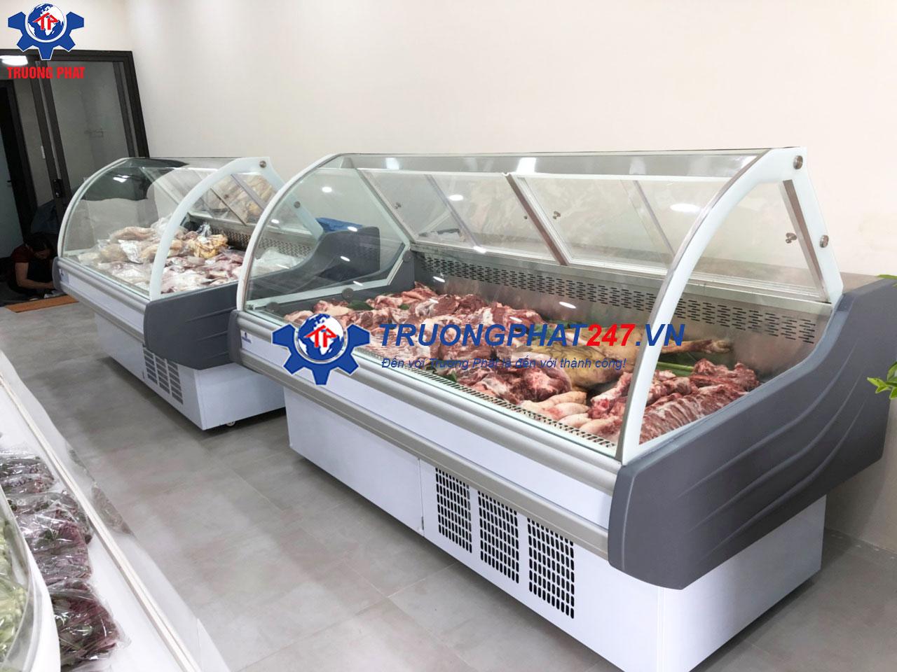 tủ trưng bày thịt tươi sống trong siêu thị SHG-2000F