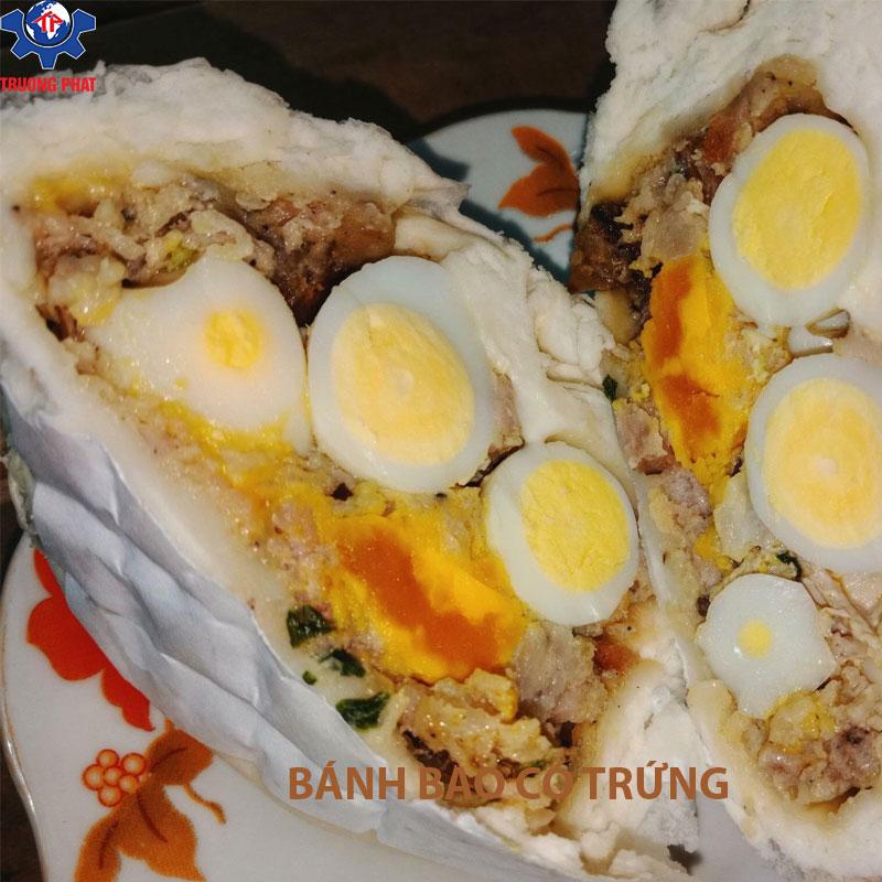bánh bao có trứng