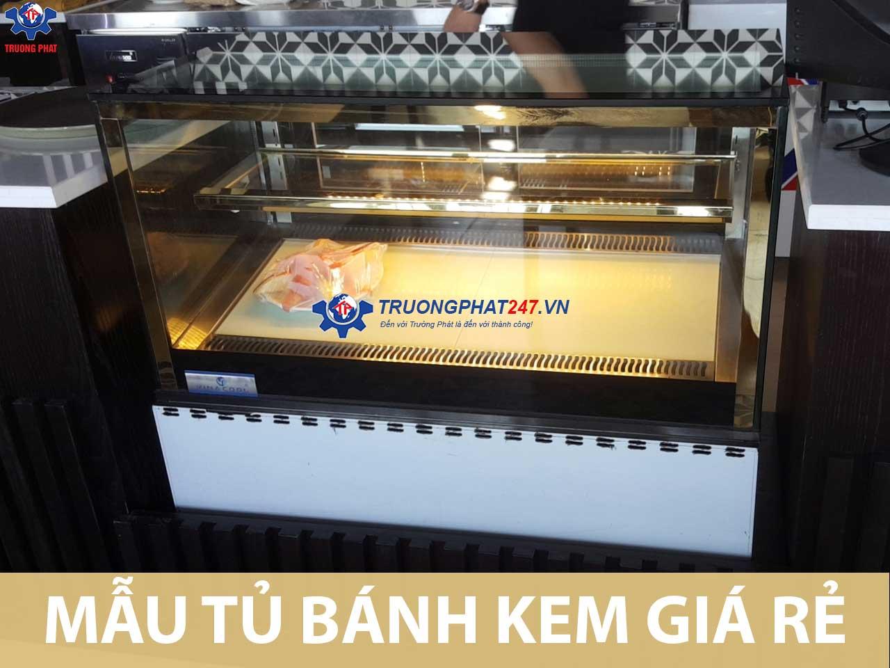 Những mẫu tủ bánh kem giá rẻ không thể bỏ qua