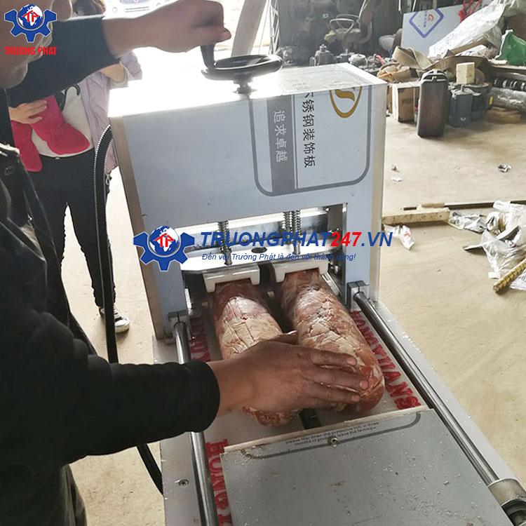 máy thái thịt bò đông lạnh công nghiệp RW-02