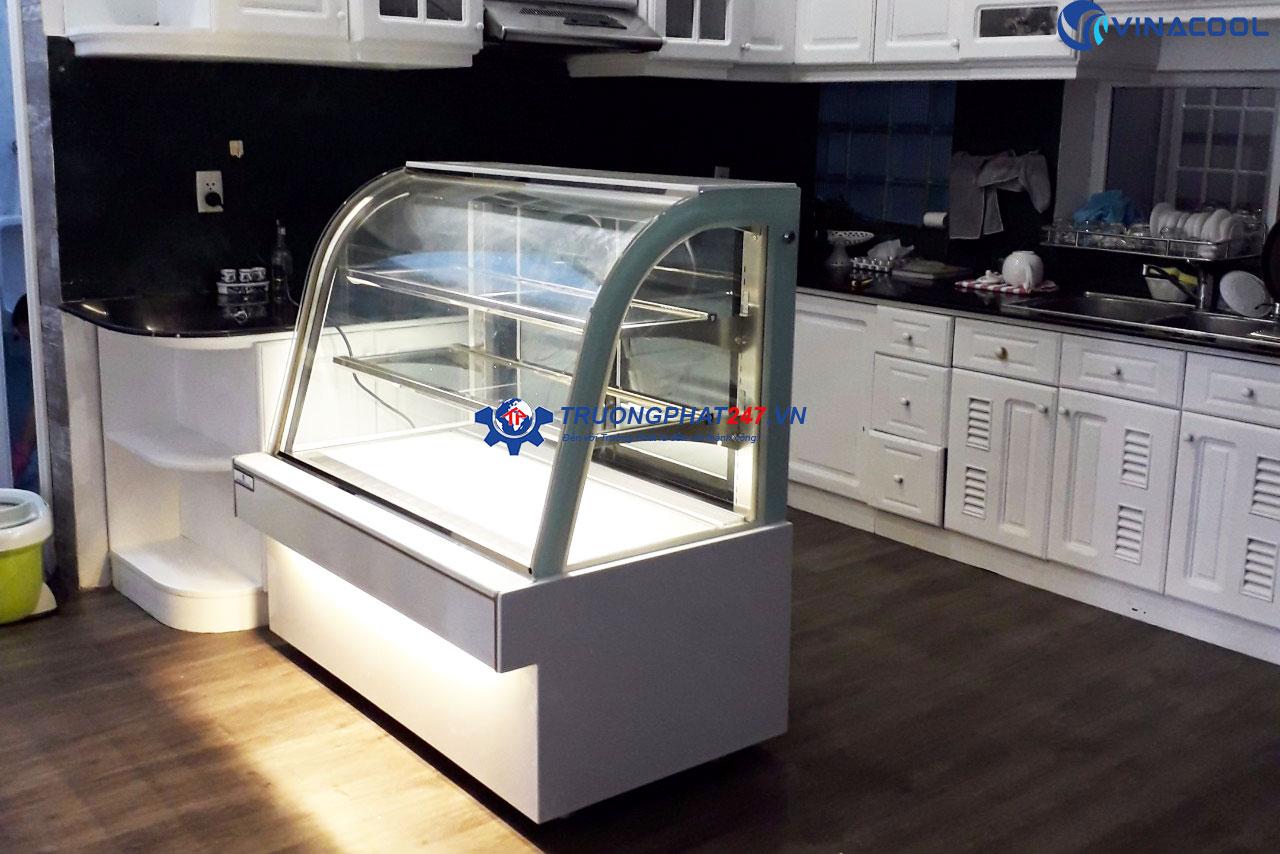 tủ bánh 1m2 màu trắng