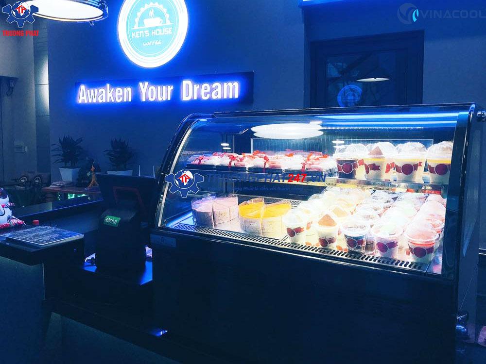 Giá tủ trưng bày bánh kem mini ở đâu rẻ nhất?