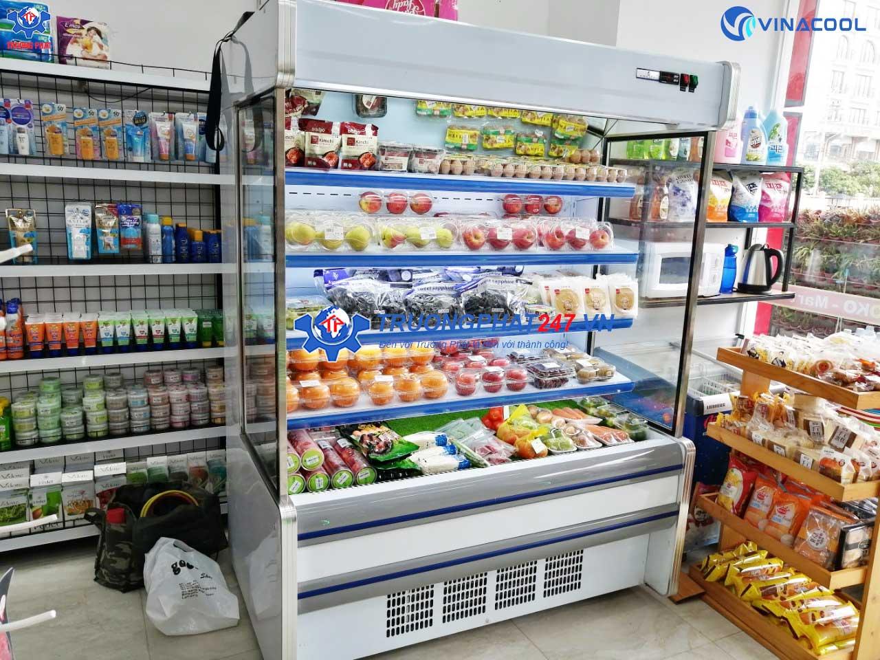 tủ mát siêu thị SLG-1500F