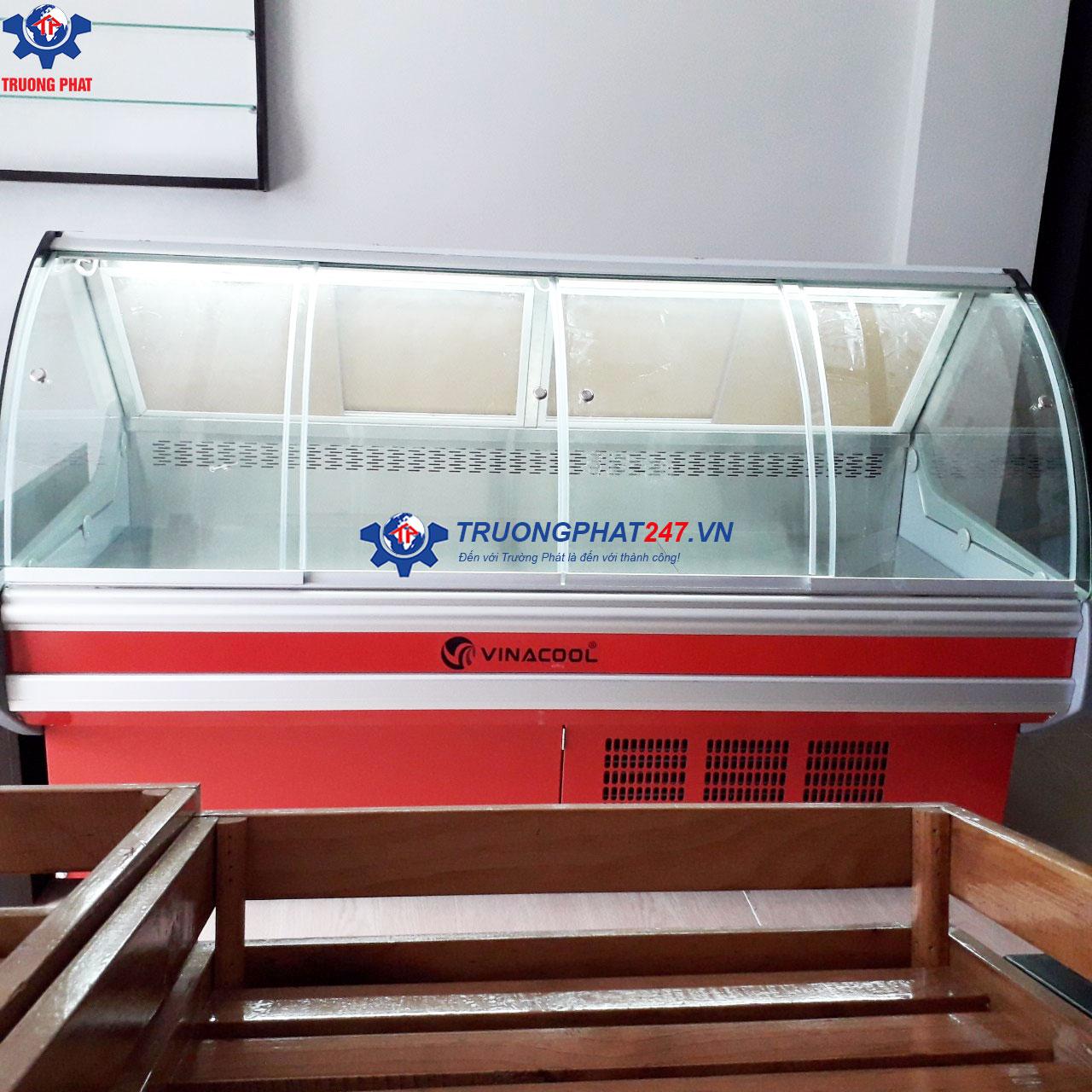 tủ bán thịt siêu thị cửa mở trước SHG-2000FY