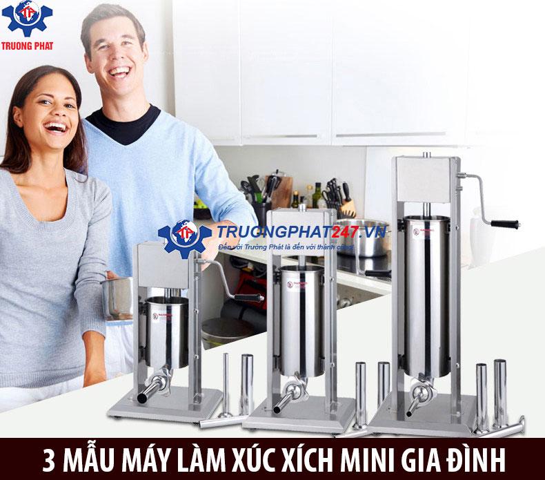 3 chiếc máy nhồi xúc xích mini gia đình bất kỳ ai cũng muốn sở hữu