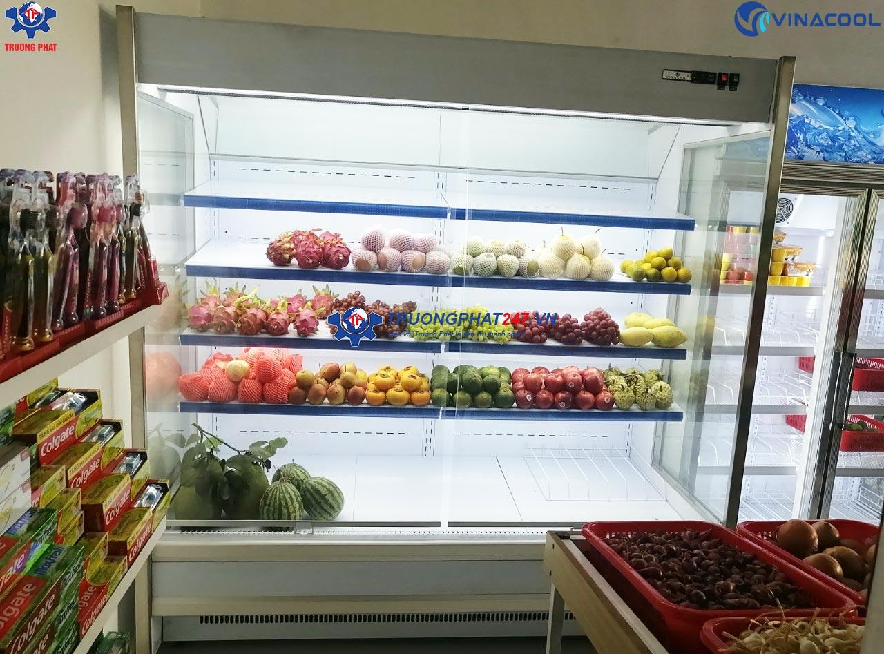tủ mát trưng bày thực phẩm 5 tầng