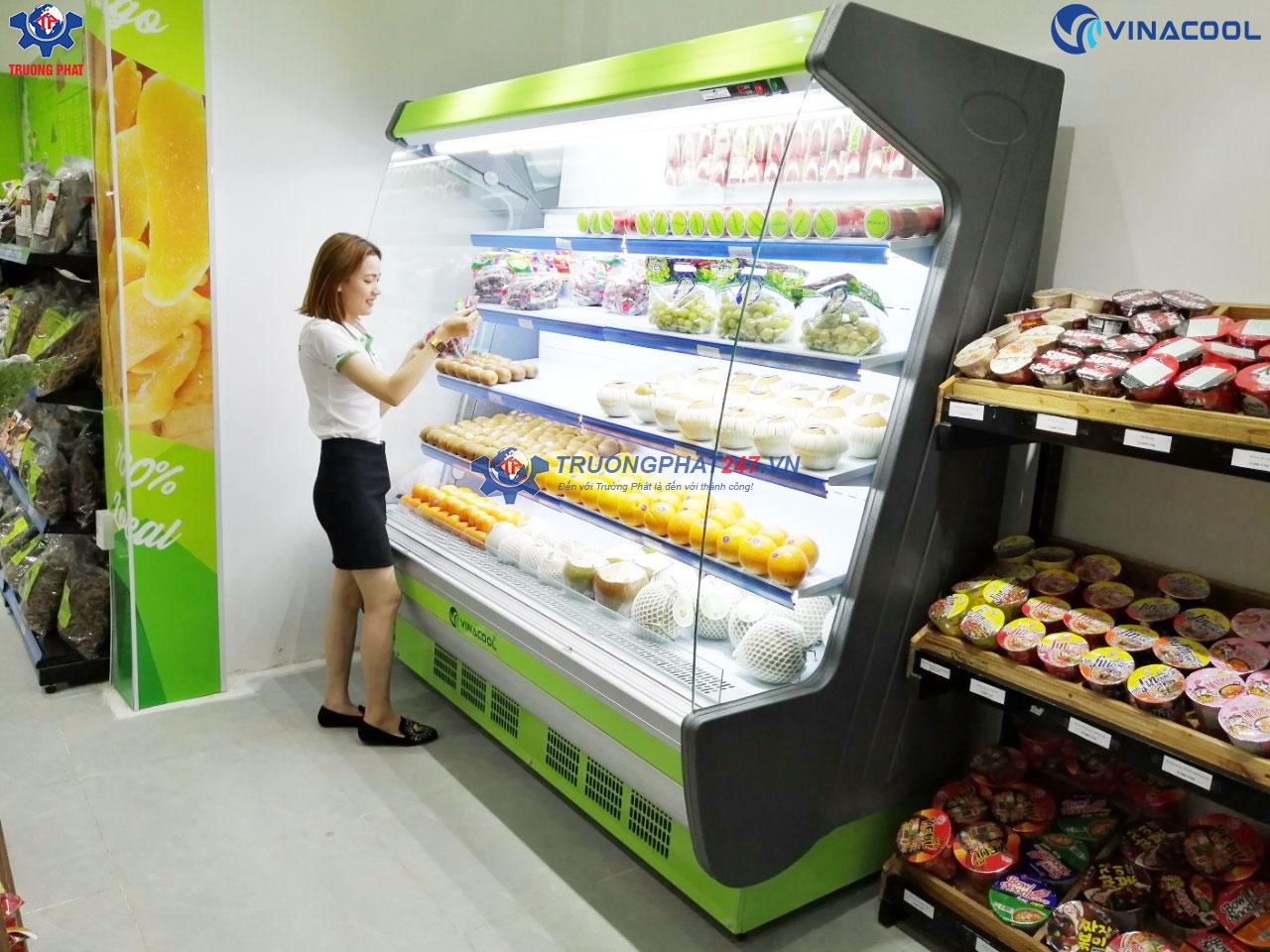 tủ mát bảo quản trái cây rau củ