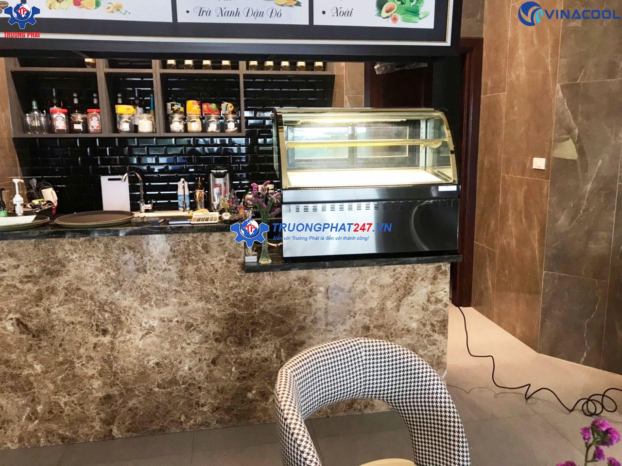 tủ mát bánh kem để bàn cho quán cafe