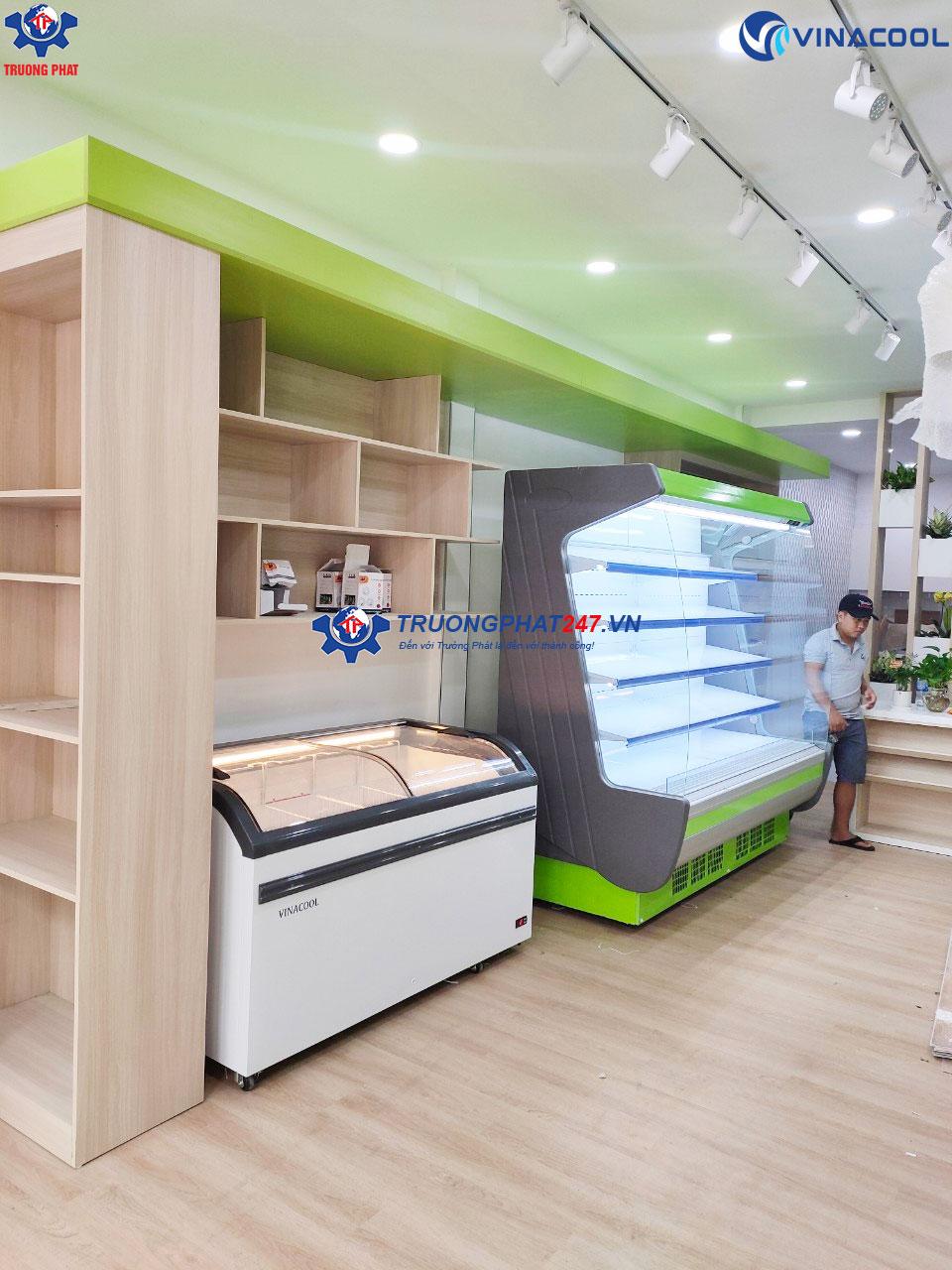 tủ mát siêu thị chung cư