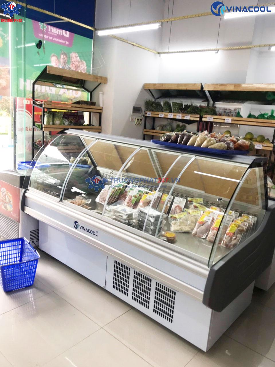 tủ mát trưng bày thịt nguội