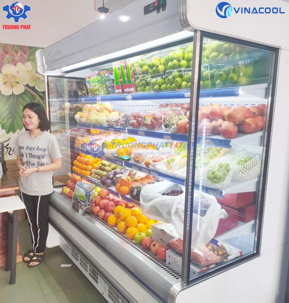 tủ mát siêu thị mini trường phát