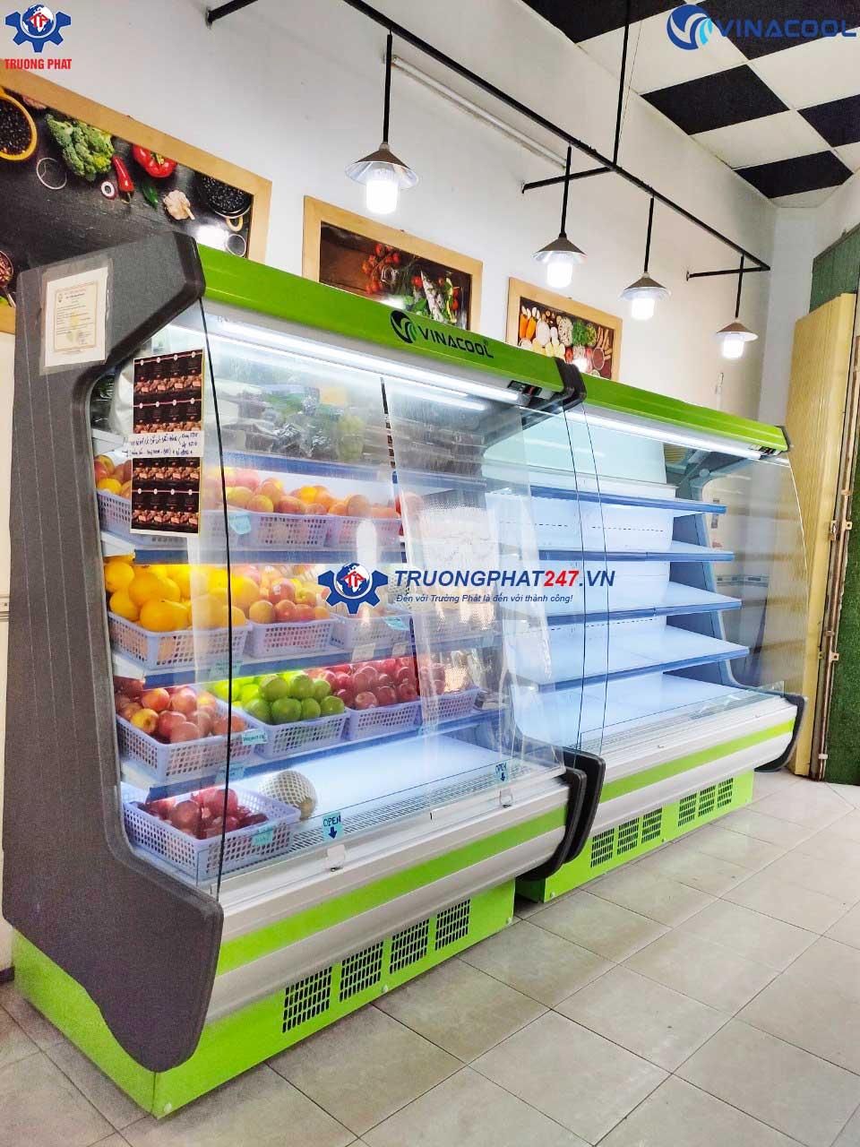Có nên đầu tư tủ mát đựng trái cây dáng cong?