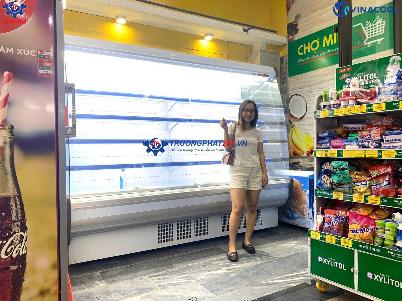 tủ mát siêu thị minimart