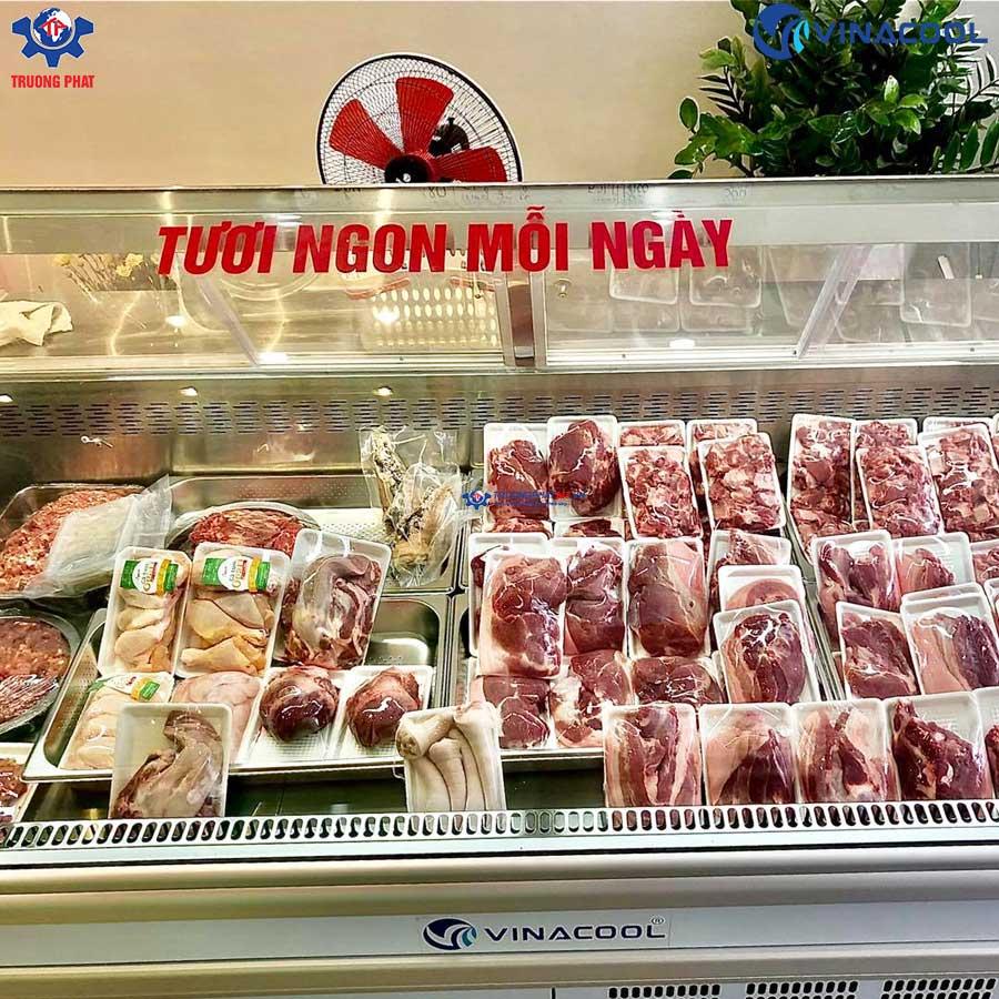 tủ bảo quản thịt tươi