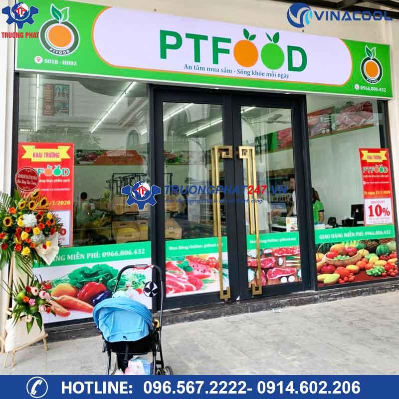 Dự án cửa hàng thực phẩm sạch PTFOOD chung cư Ecolake View