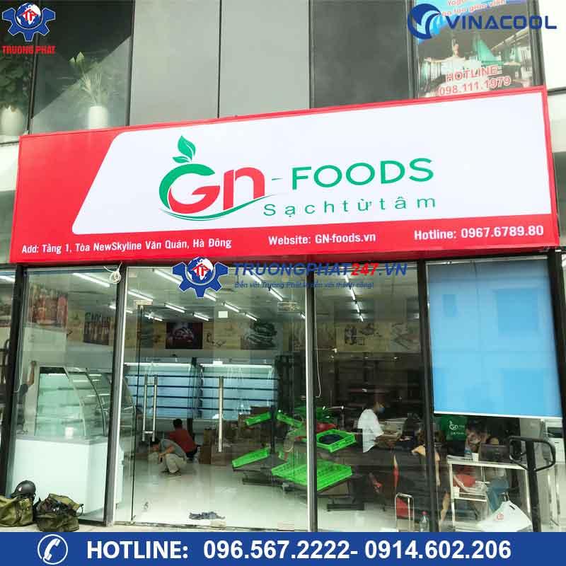 Dự án cửa hàng thực phẩm sạch GNFOODS NEWSKYLINE Hà Đông