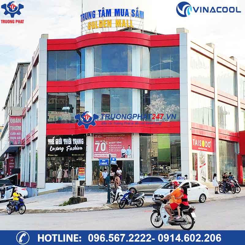 Dự án tủ mát 6m lốc ngoài Golden Mall Bắc Giang